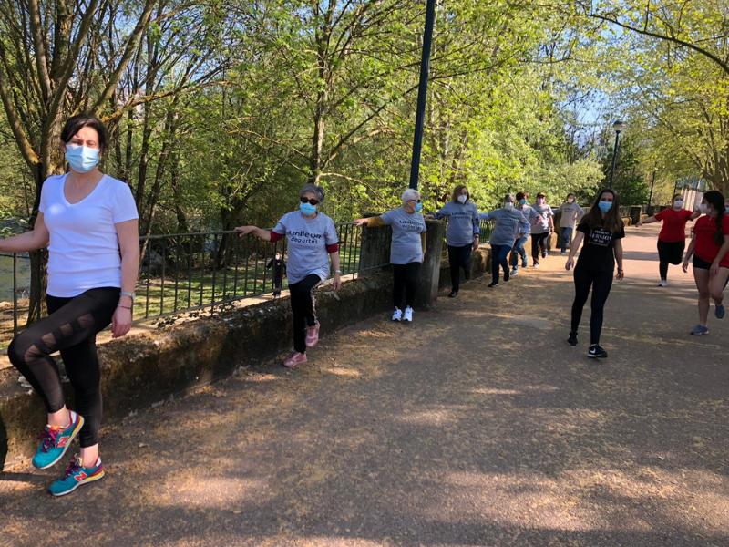 Voluntariado y paseos terapéuticos Campus de Ponferrada