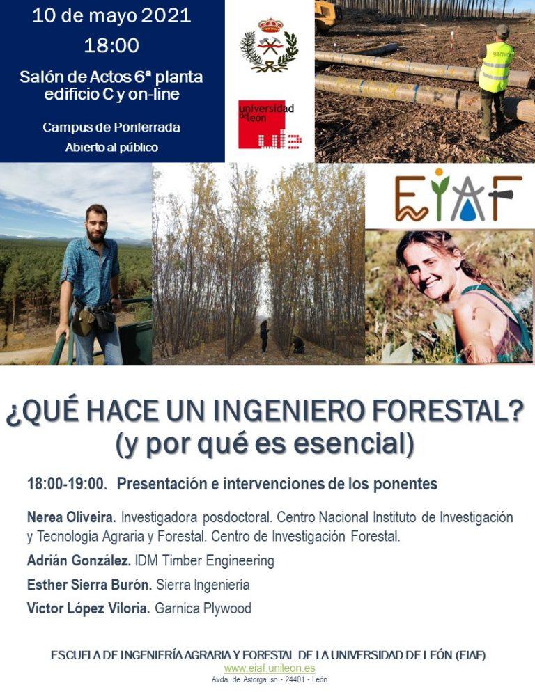 Semana de la empleabilidad y el emprendimiento en el sector forestal (Campus de Ponferrada)